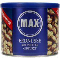 Max Jordnødder sort pebber 300 g