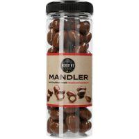 Nordthy Mandler med mælkechokolade 325 g