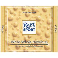 Ritter Sport Hvid/Nød 100 g